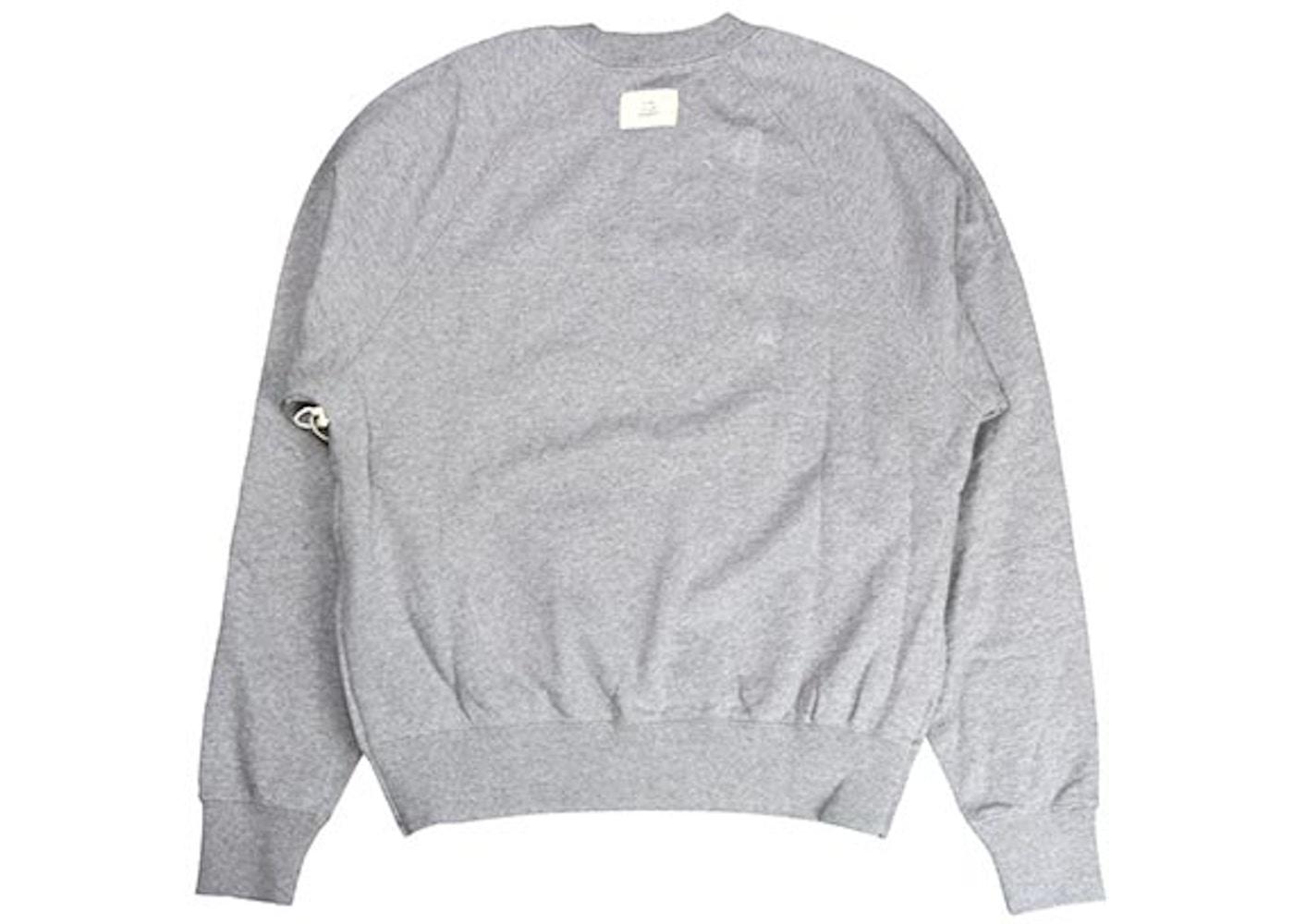 0c01e463b FEAR OF GOD FOG Essentials Crew Neck Sweatshirt Grey