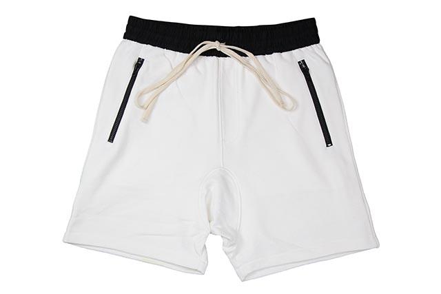 FEAR OF GOD FOG Essentials Drawstring Shorts White