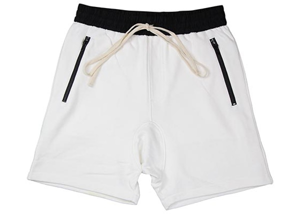 FEAR OF GOD FOG Essentials Drawstring Shorts White 8a5be2ed75fe