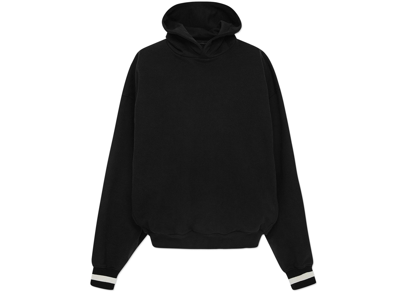 75e0aac7c420 FEAR OF GOD Heavy Terry Everyday Hoodie Black - Fifth Collection