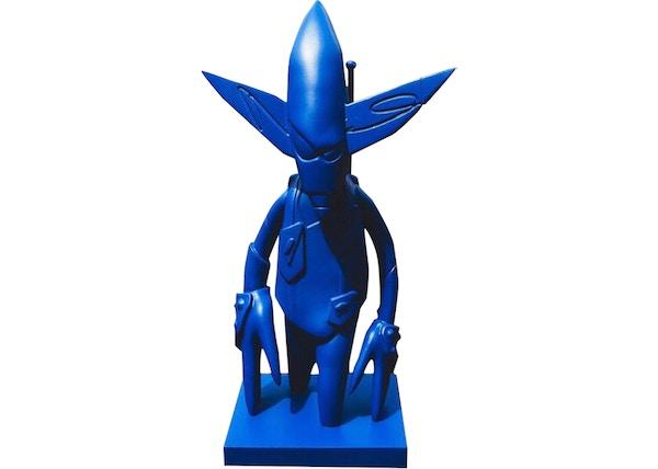 8f0dda86 Futura x New York Mets Bobblehead Figure Blue