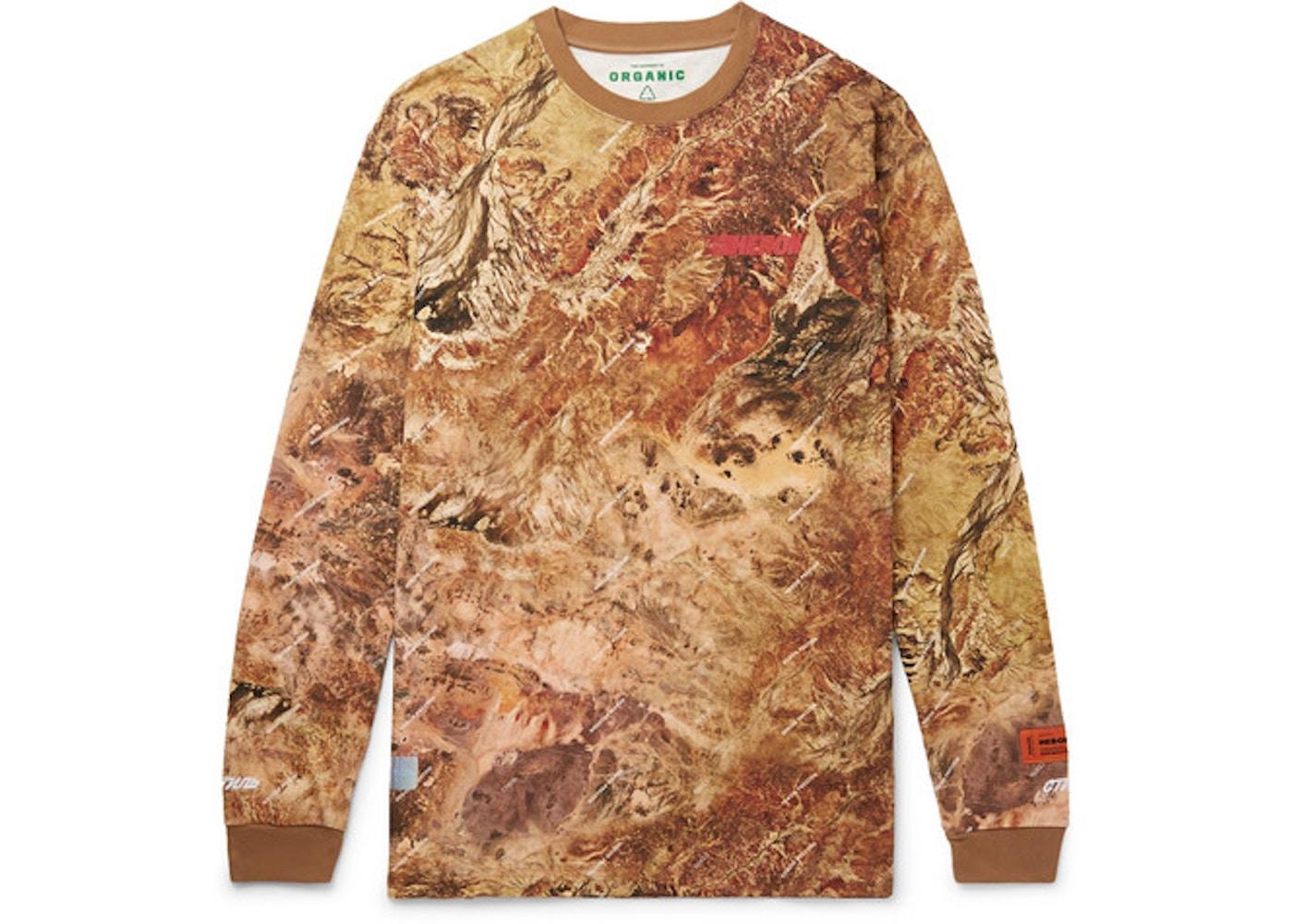 9c77ba30 Heron Preston Australian Outback Print L/S T-Shirt Orange/Multicolor ...