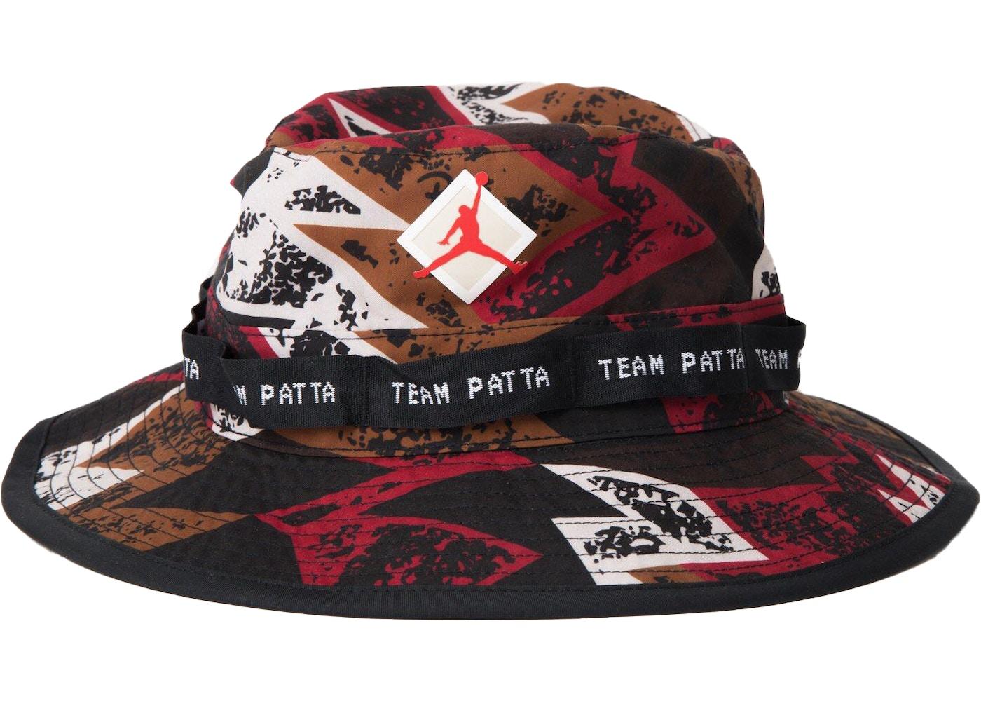 7b946b20 Jordan x Patta Boonie Hat Multi - SS19