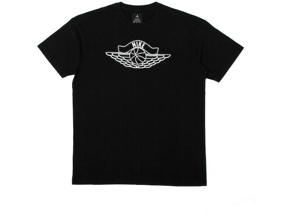 a75a353a Jordan x Union NRG Vault AJ Flight Nike x Wings Tee Black