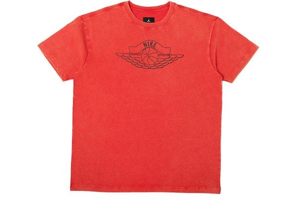02732c455e07 Jordan x Union NRG Vault AJ Flight Nike x Wings Tee Red