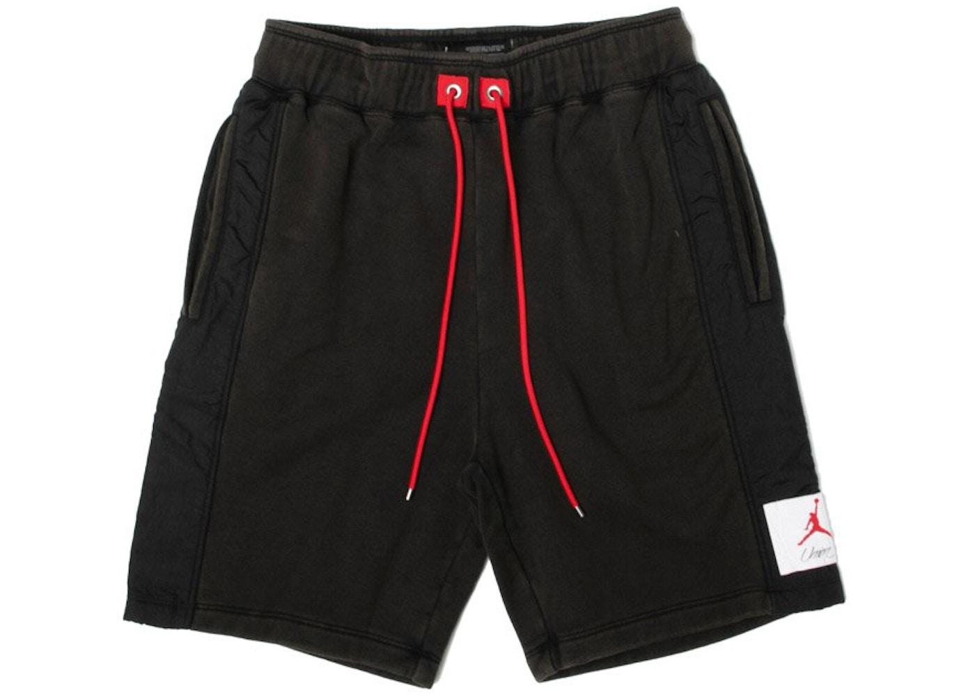 4c3618a92dad Jordan x Union NRG Vault AJ Flight Shorts Black - FW18