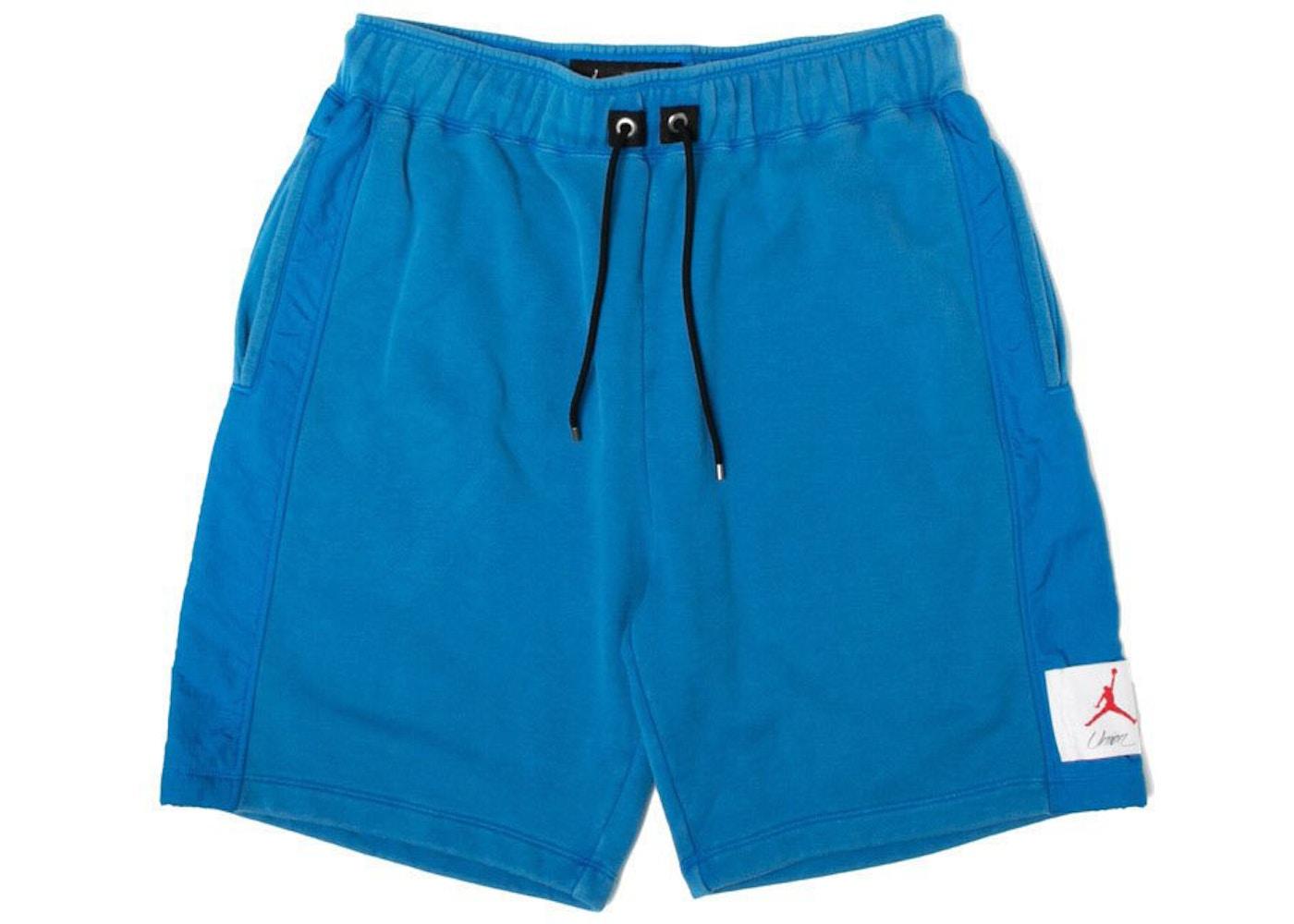 4d37061f950c Jordan x Union NRG Vault AJ Flight Shorts Blue - FW18
