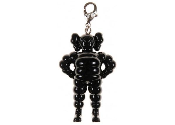 KAWS Chum Keychain Black
