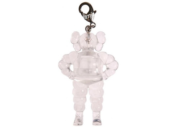 KAWS Chum Keychain Clear