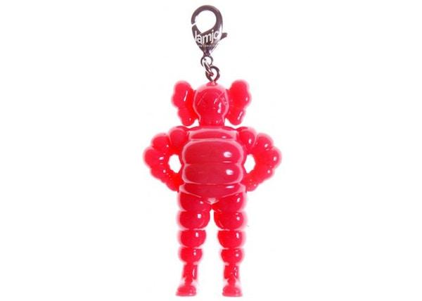 KAWS Chum Keychain Pink