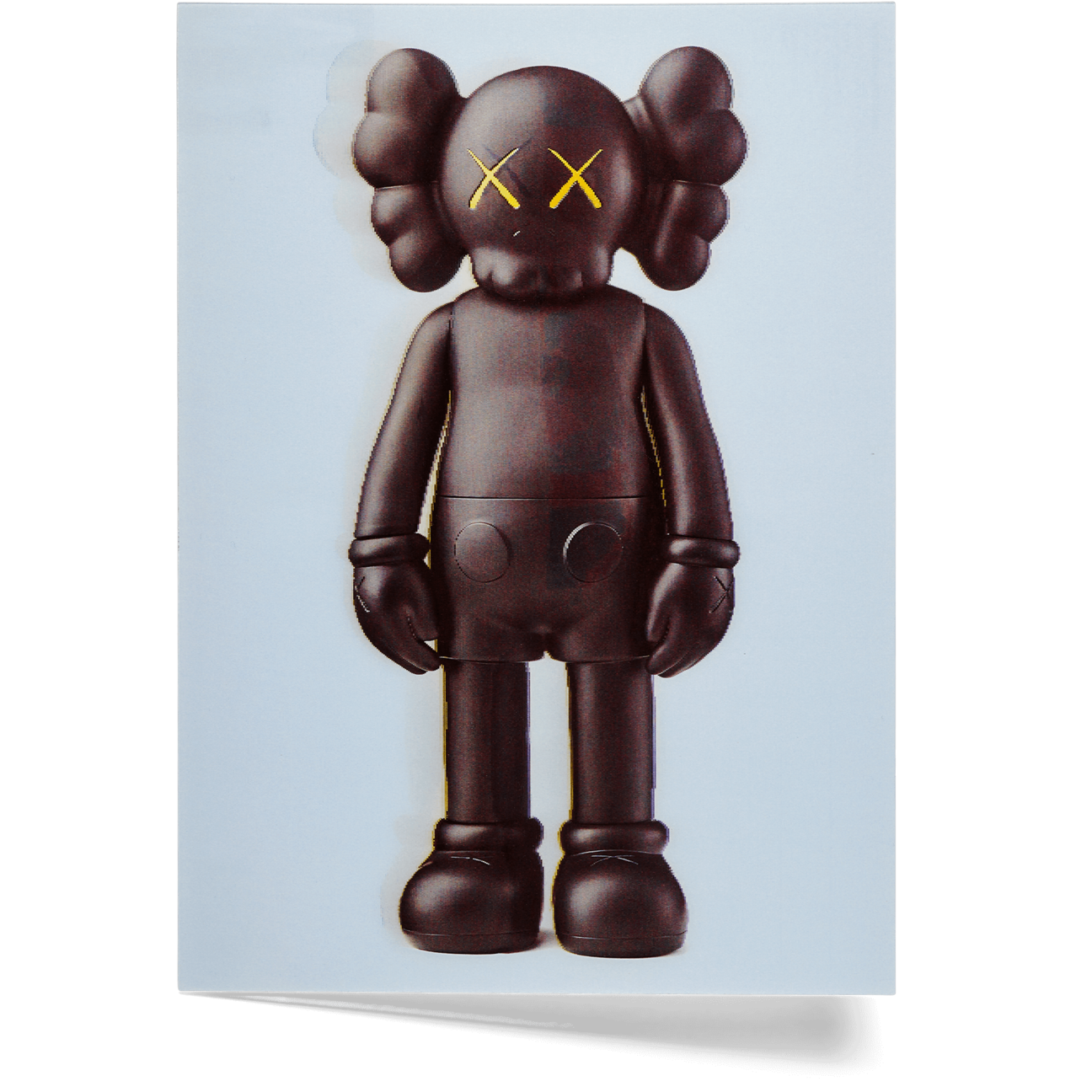 Kaws NGV Lenticular Postcard set of 4 companion flayed