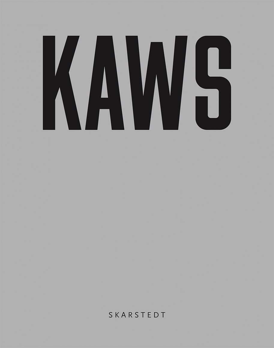 KAWS GONE Book Grey