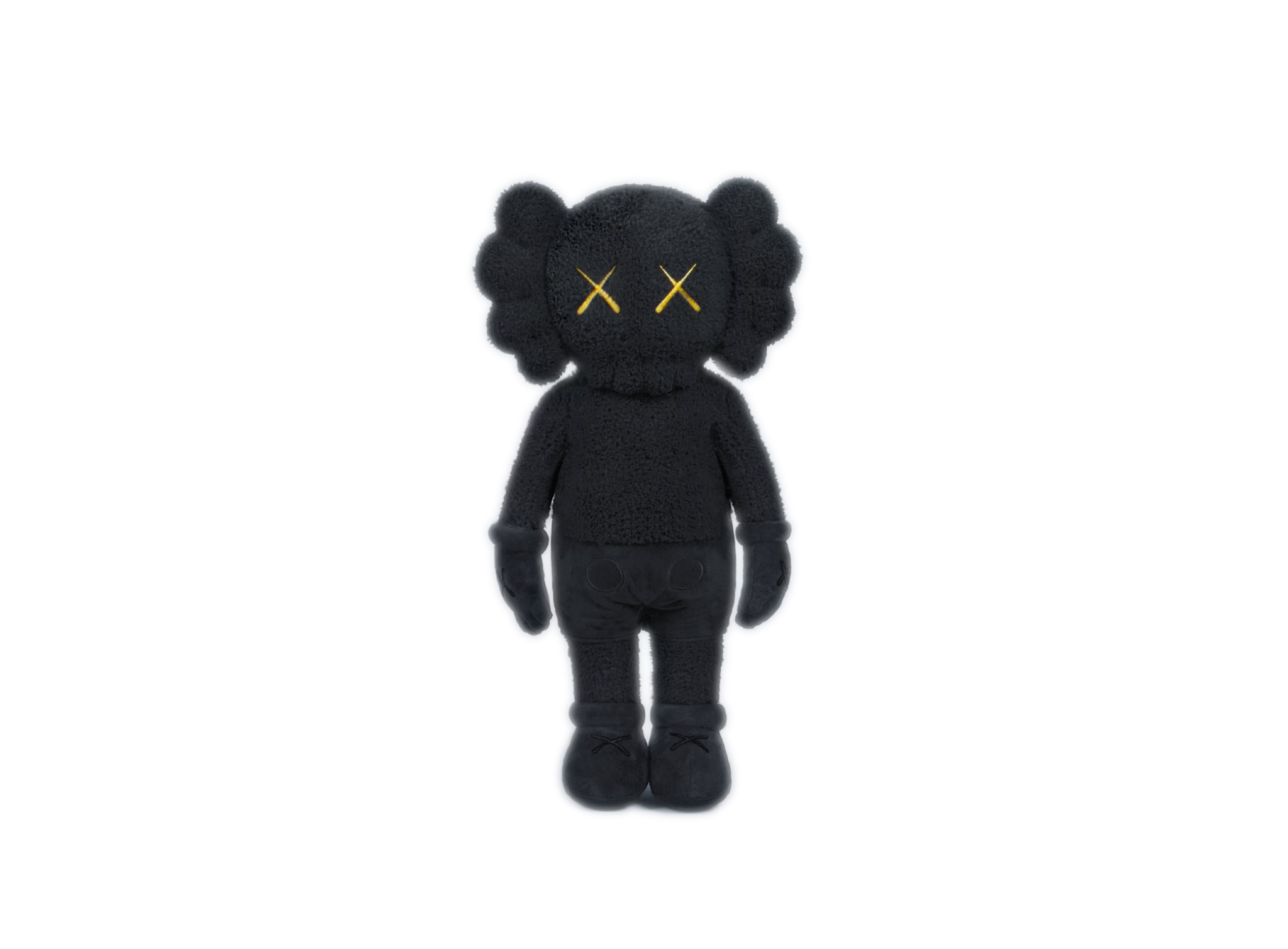 """KAWS HOLIDAY Hong Kong Limited 20"""" Plush Black"""