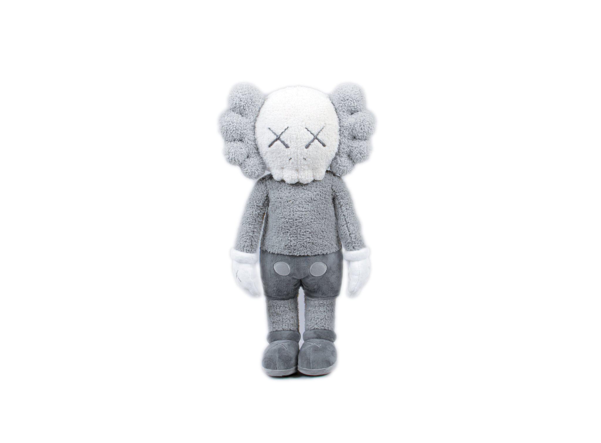 """KAWS HOLIDAY Hong Kong Limited 20"""" Plush Grey"""