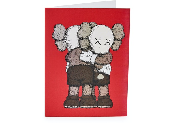 KAWS Holiday Cards (Box of 12) Red