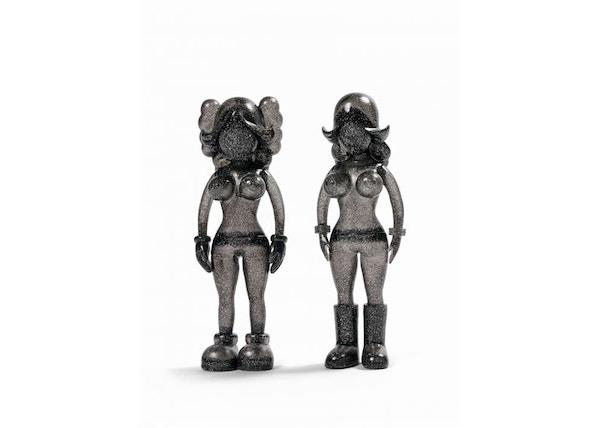 KAWS The Twins Vinyl Figure Glitter