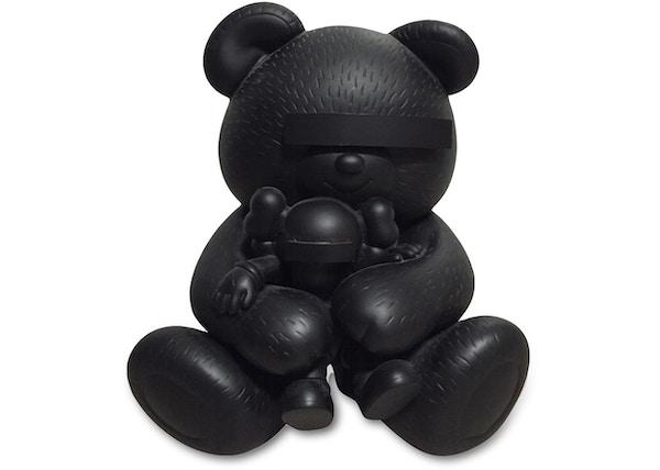 KAWS Undercover Bear Vinyl Figure Black