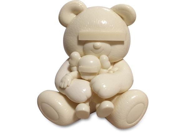 KAWS Undercover Bear Vinyl Figure White
