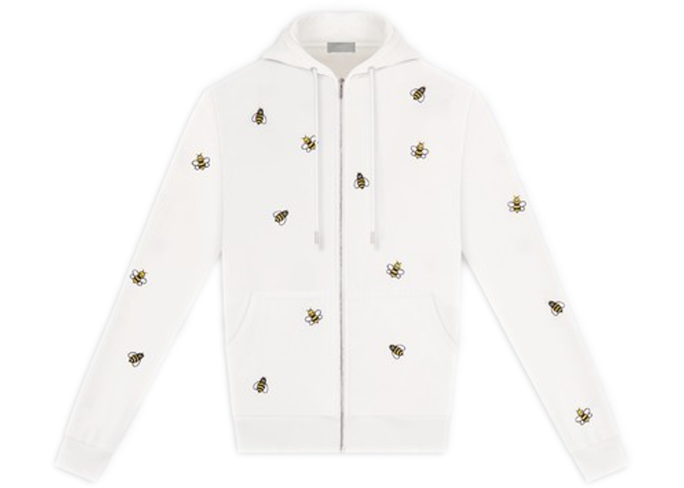 975ec842 Sell. or Ask. Size L. View All Bids. KAWS x Dior Embroidered Bees Zip Up  Sweatshirt White