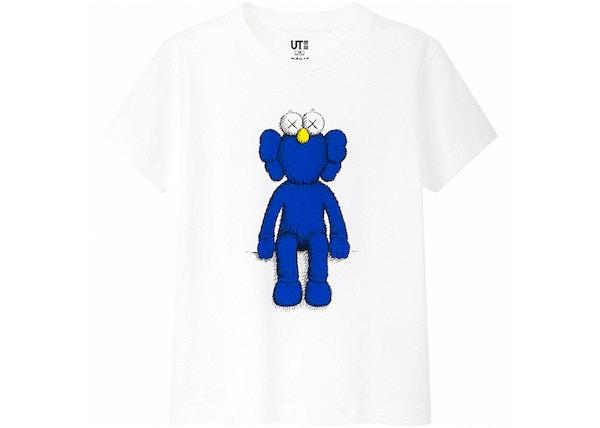 048f25ad9 KAWS x Uniqlo Blue BFF Tee (Kids) White