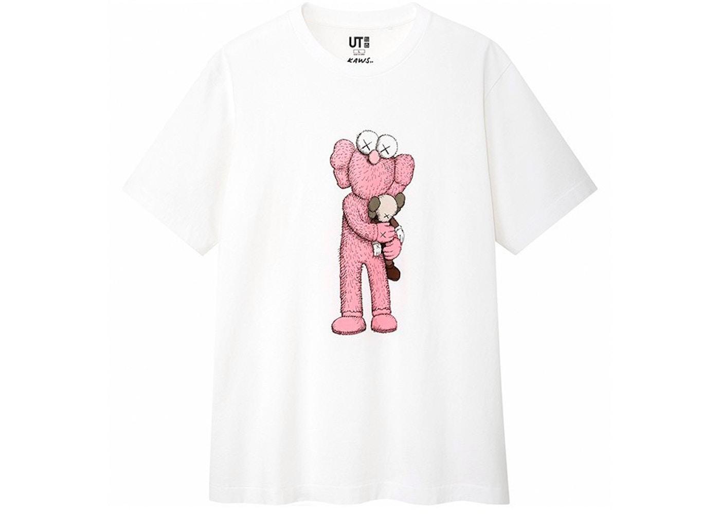 2da5f1ce KAWS x Uniqlo Pink BFF Tee White - SS19