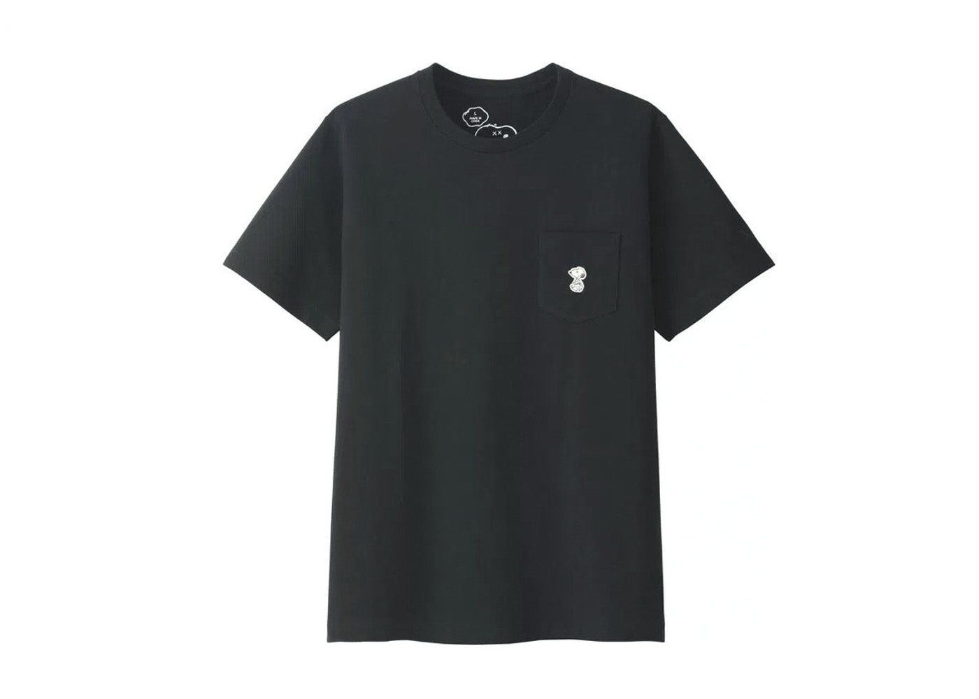 bf10a946 KAWS x Uniqlo x Peanuts Snoopy Pocket Tee (US Sizing) Black - SS17
