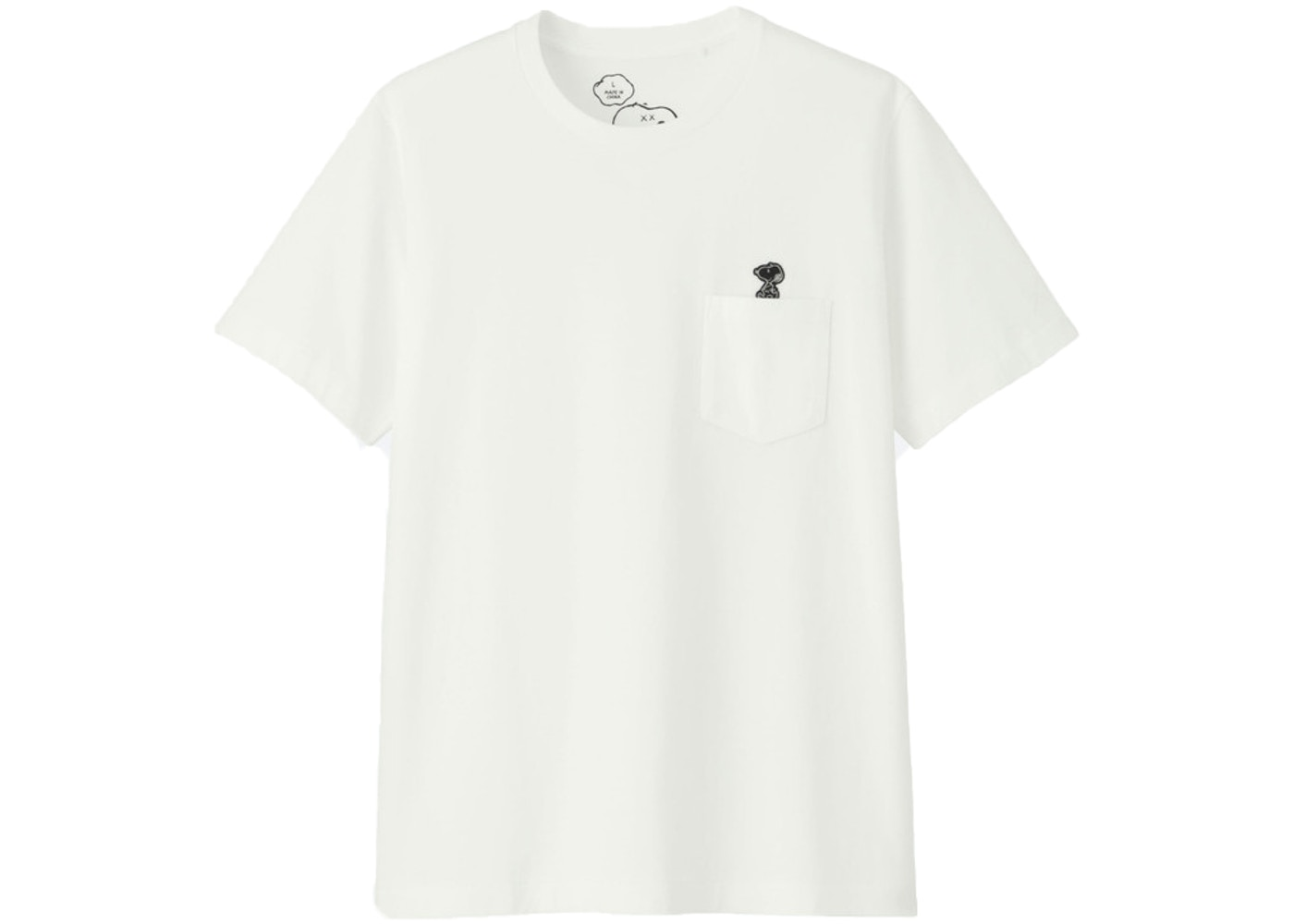861b719a KAWS x Uniqlo x Peanuts Snoopy Pocket Tee (US Sizing) (FW17) White ...