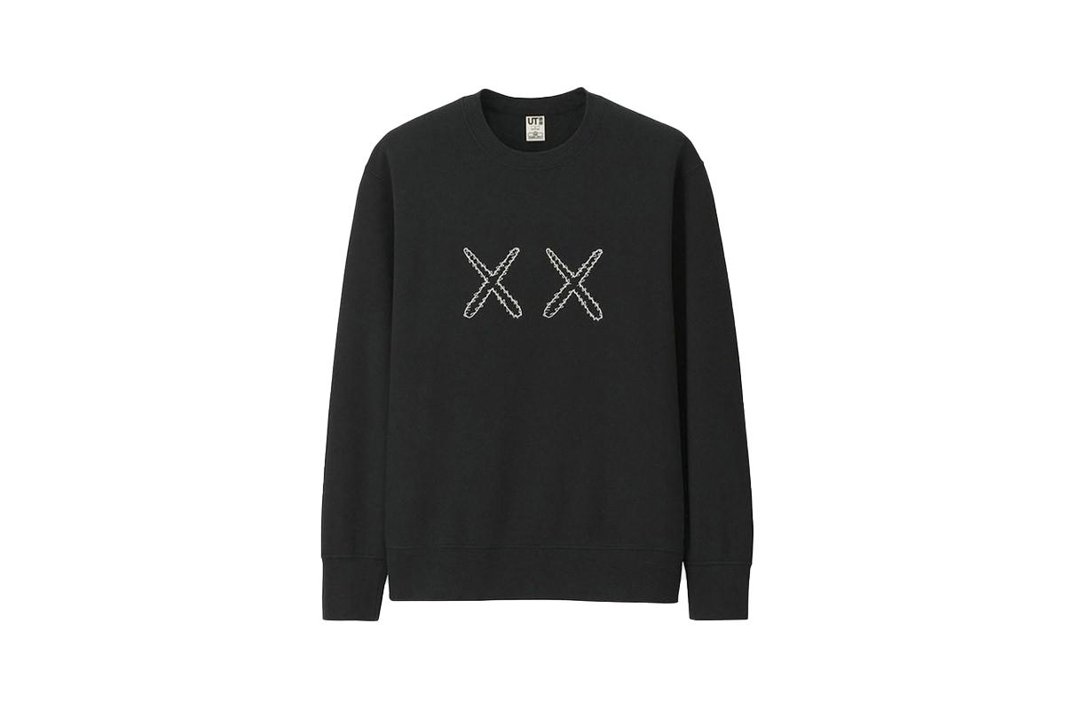 X X UNIQLO X X KAWS X SESAME STREET SWEATSHIRT Grey Size Large NEW