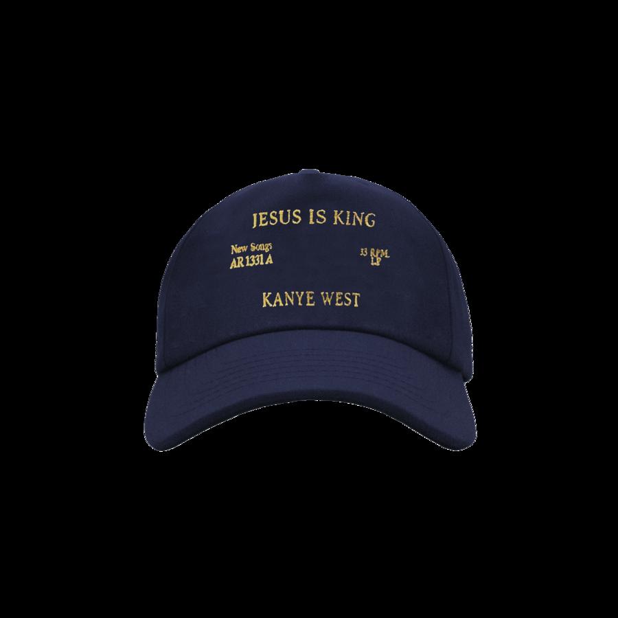 Kanye West Jesus Is King Vinyl Ii Hat Navy