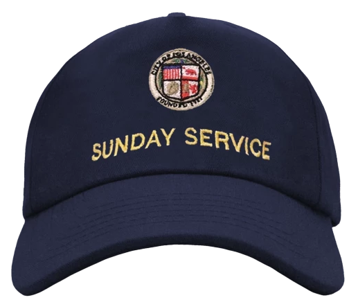 Kanye West Sunday Service Hat Navy