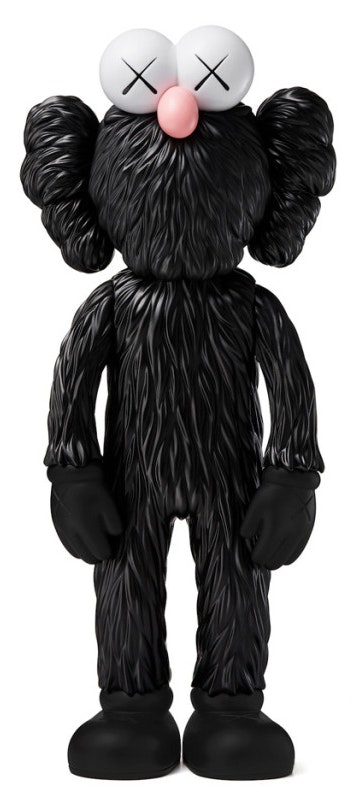 Kaws BFF Open Edition Vinyl Figure Black