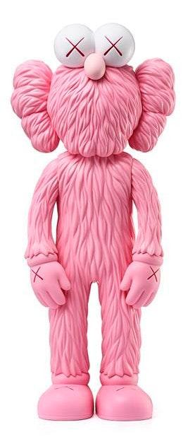 Kaws BFF Open Edition Vinyl Figure Pink