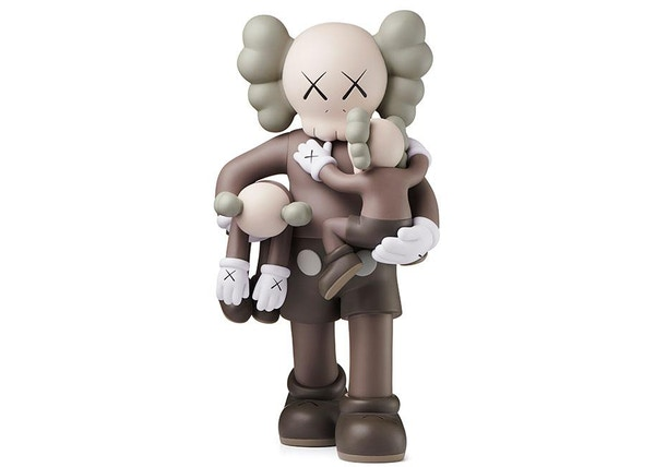 16f138c8456106 Kaws Clean Slate Vinyl Figure Brown
