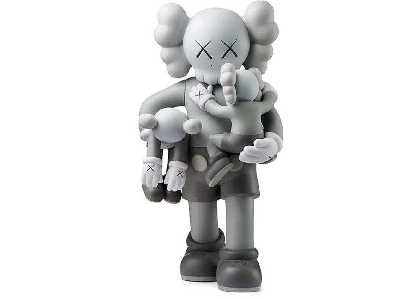 961621b5ffdb2a Sell. or Ask. View All Bids. Kaws Clean Slate Vinyl Figure Grey