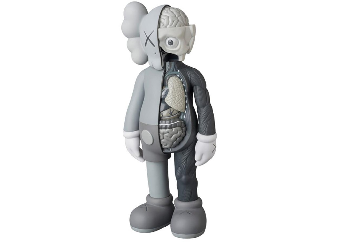 best sneakers 3798b 48efa KAWS Companion Flayed Open Edition Vinyl Figure Grey