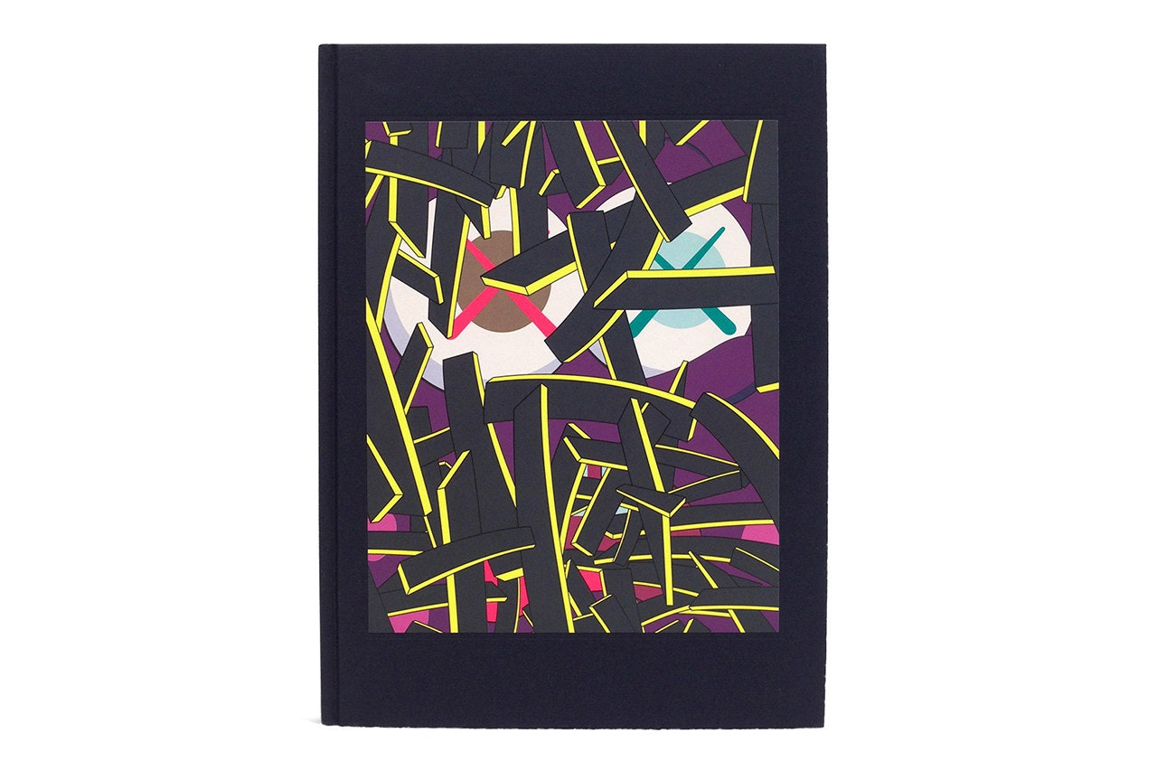 Kaws Downtime Hardcover Book Black