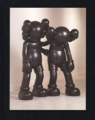 Kaws Final Days Hardcover Book Black
