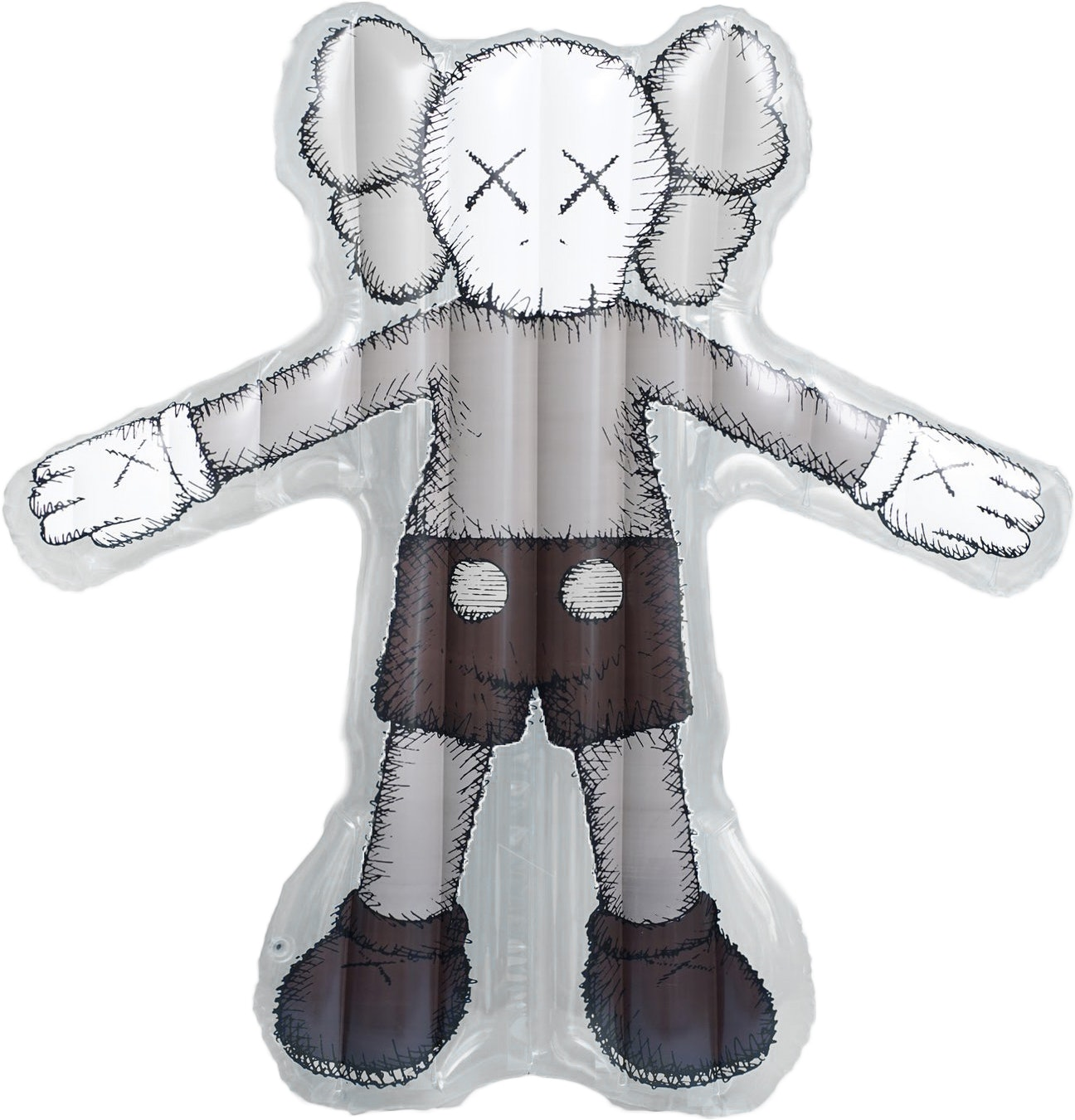Kaws Holiday Companion Floating Bed Clear