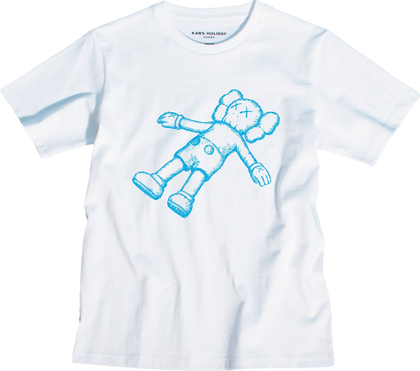 Kaws Holiday Companion Tee White