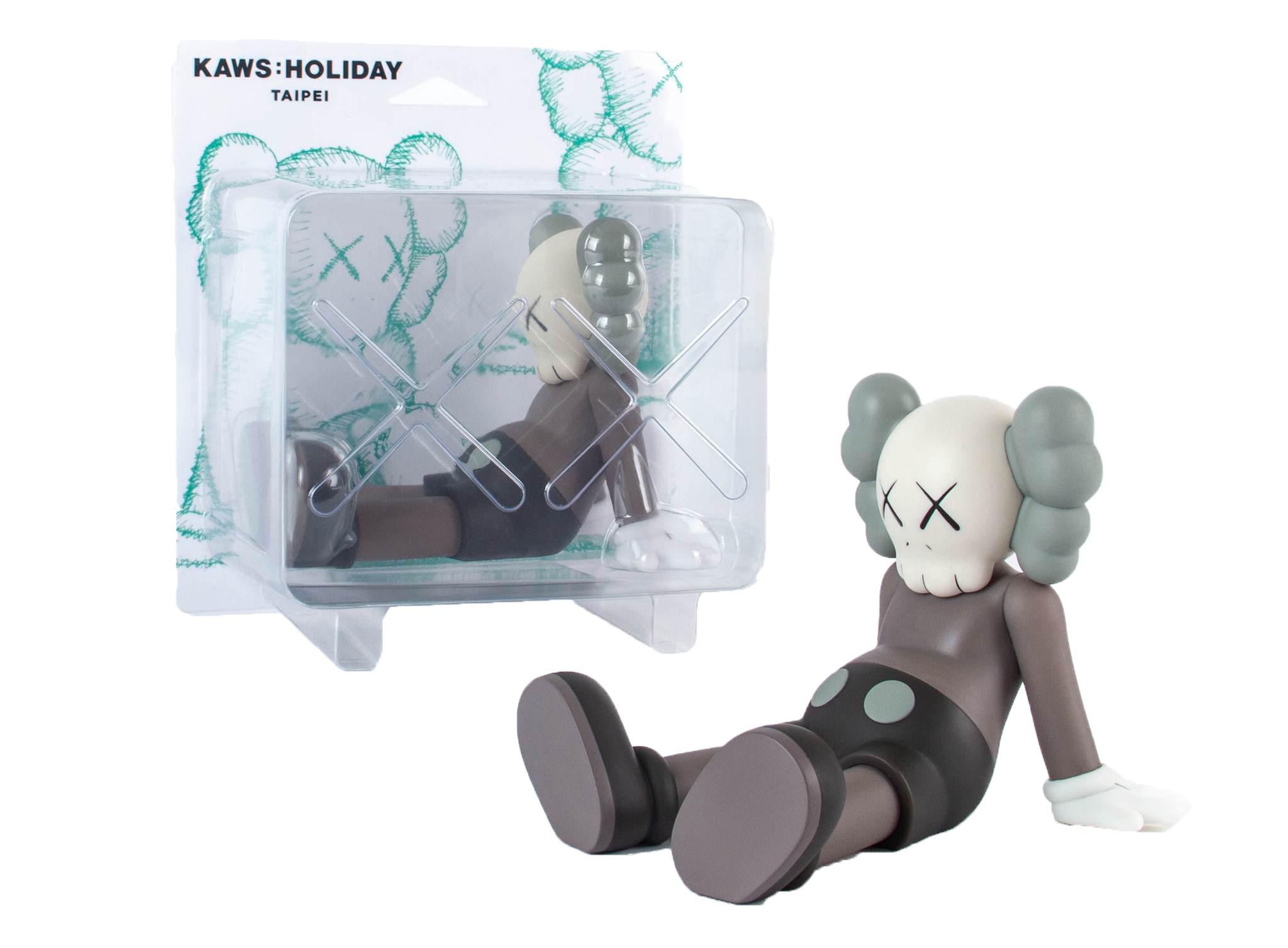 "KAWS Holiday Limited 7"" Vinyl Figure Brown"