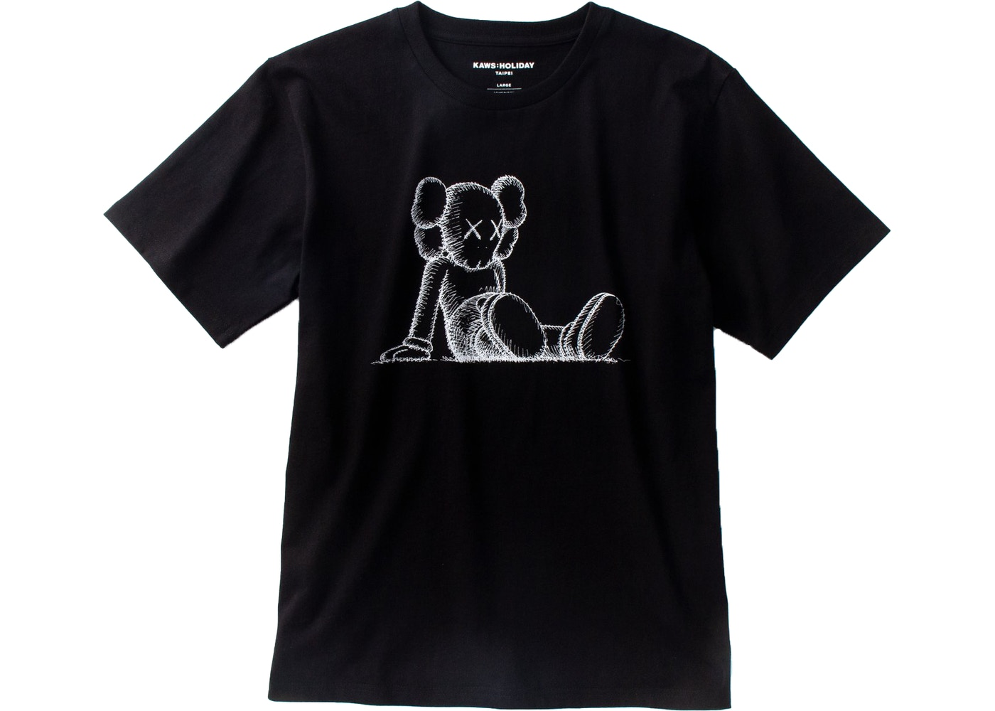67ca062b5 Sell. or Ask. Size L. View All Bids. KAWS Holiday Limited Companion T-Shirt  Black