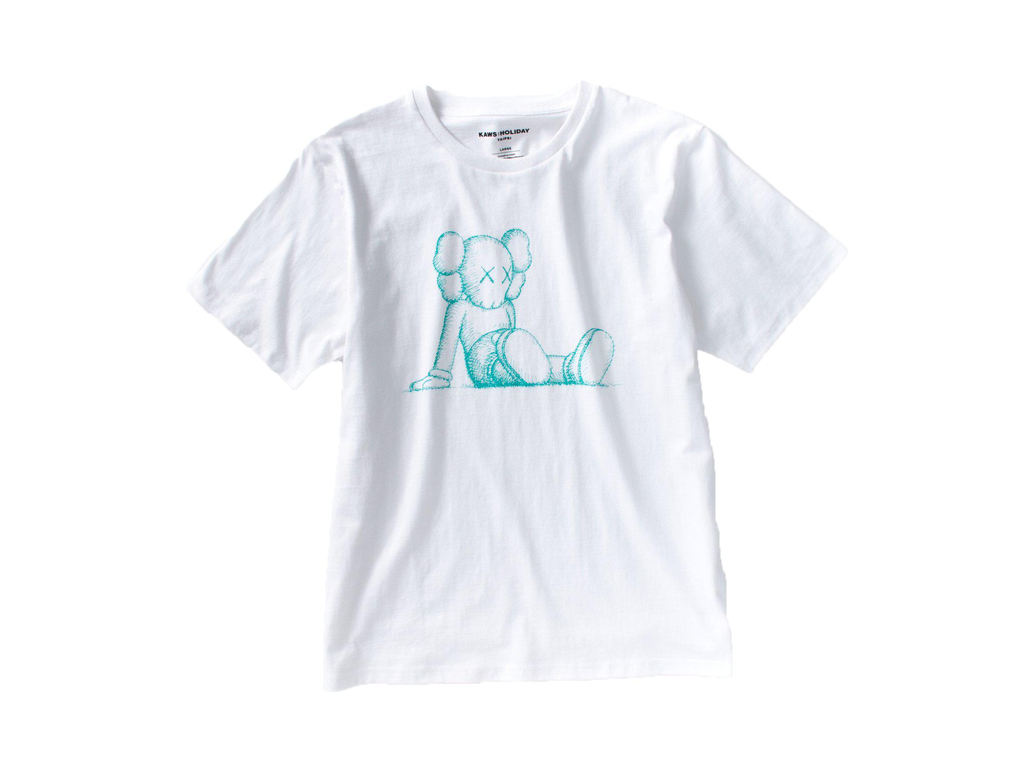 Kaws Holiday Limited Companion T-Shirt White
