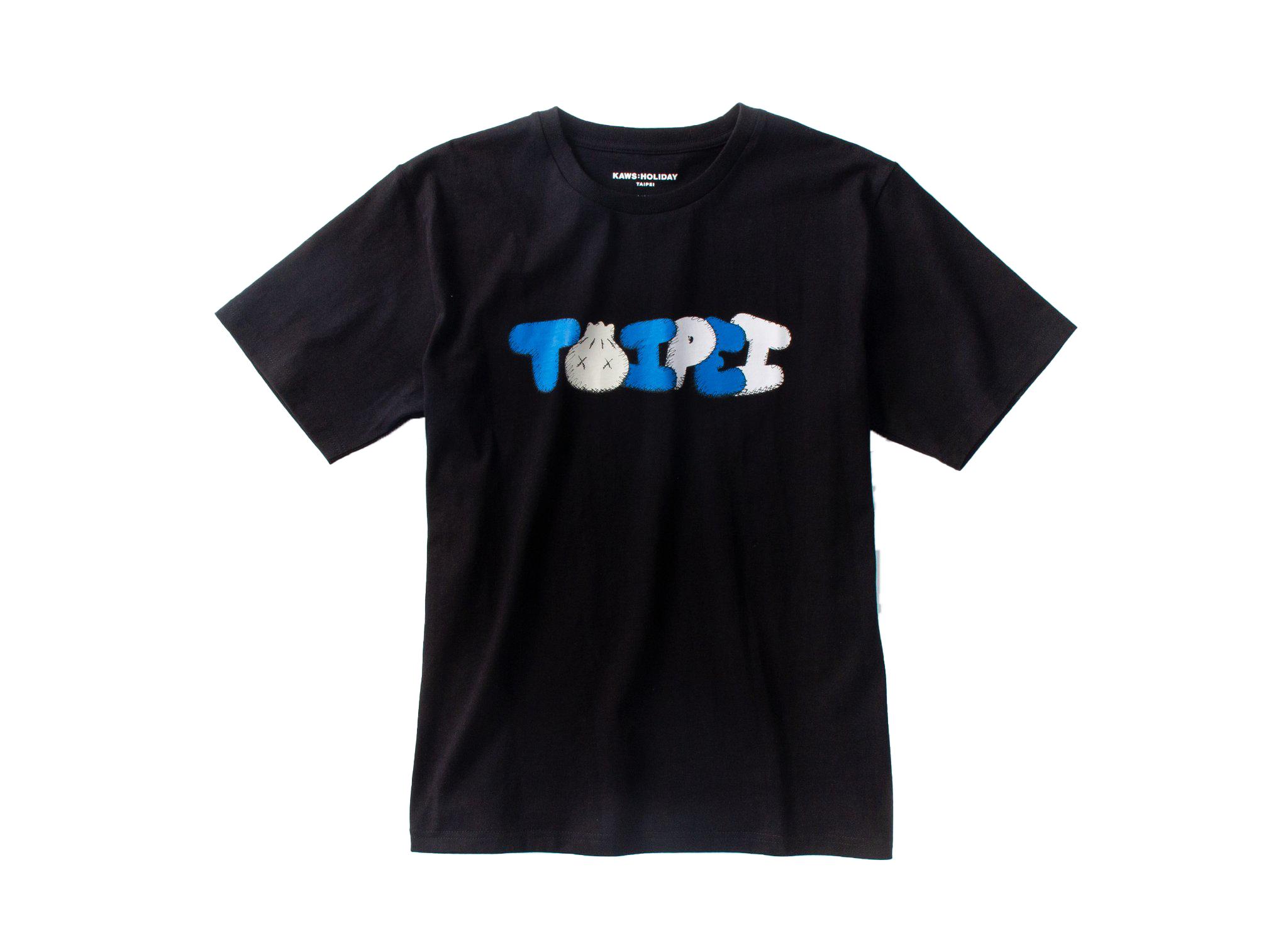 Kaws Holiday Limited Taipei T-Shirt Black