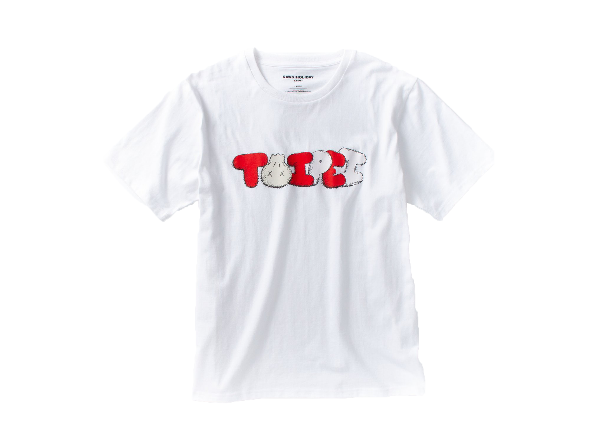 Kaws Holiday Limited Taipei T-Shirt White