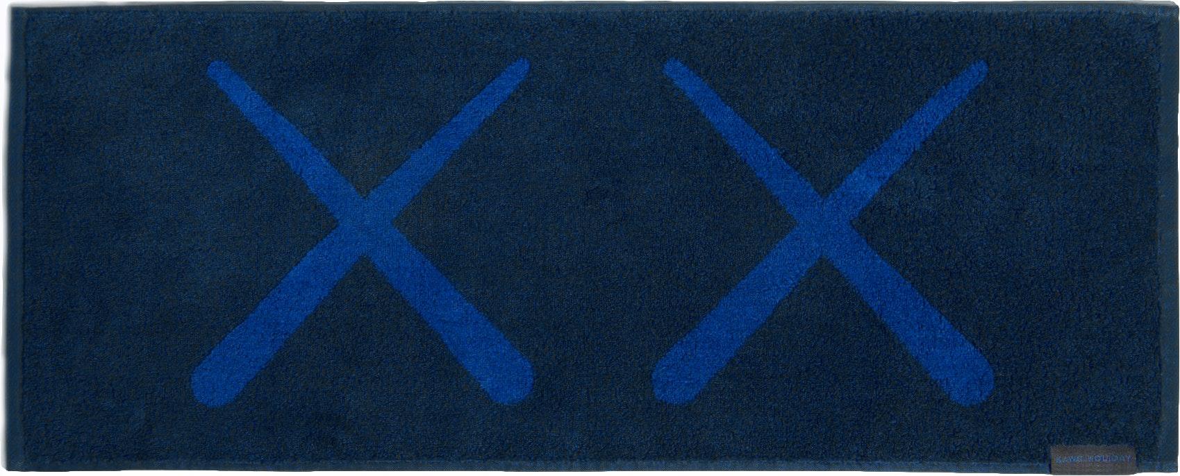 Kaws Holiday Towel Navy