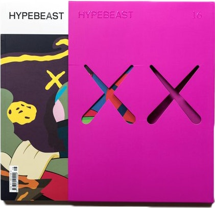 Kaws Hypebeast Issue 16 The Projection Re-release Magazine Pink