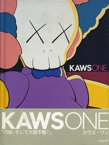 Kaws One Harcover Book Multi