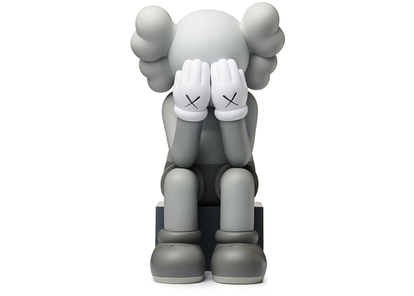 best loved 8dbdd c8d0f KAWS Passing Through Open Edition Vinyl Figure Grey