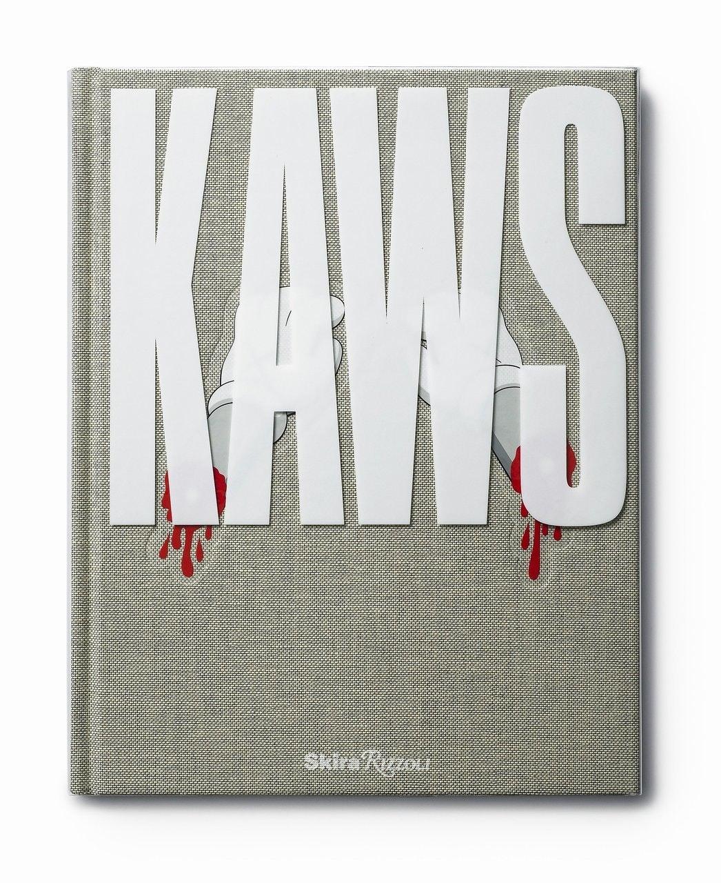 Kaws Rizzoli Hardcover Book Grey