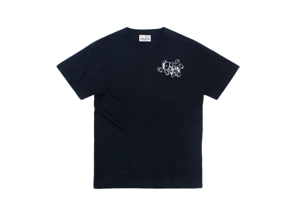 Kaws Seeing/Watching Heads Canned Tee Black